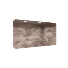 Зеркало настенное антивандальное из н/ж стали