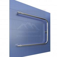 П-образный полотенцесушитель подключение 320 мм